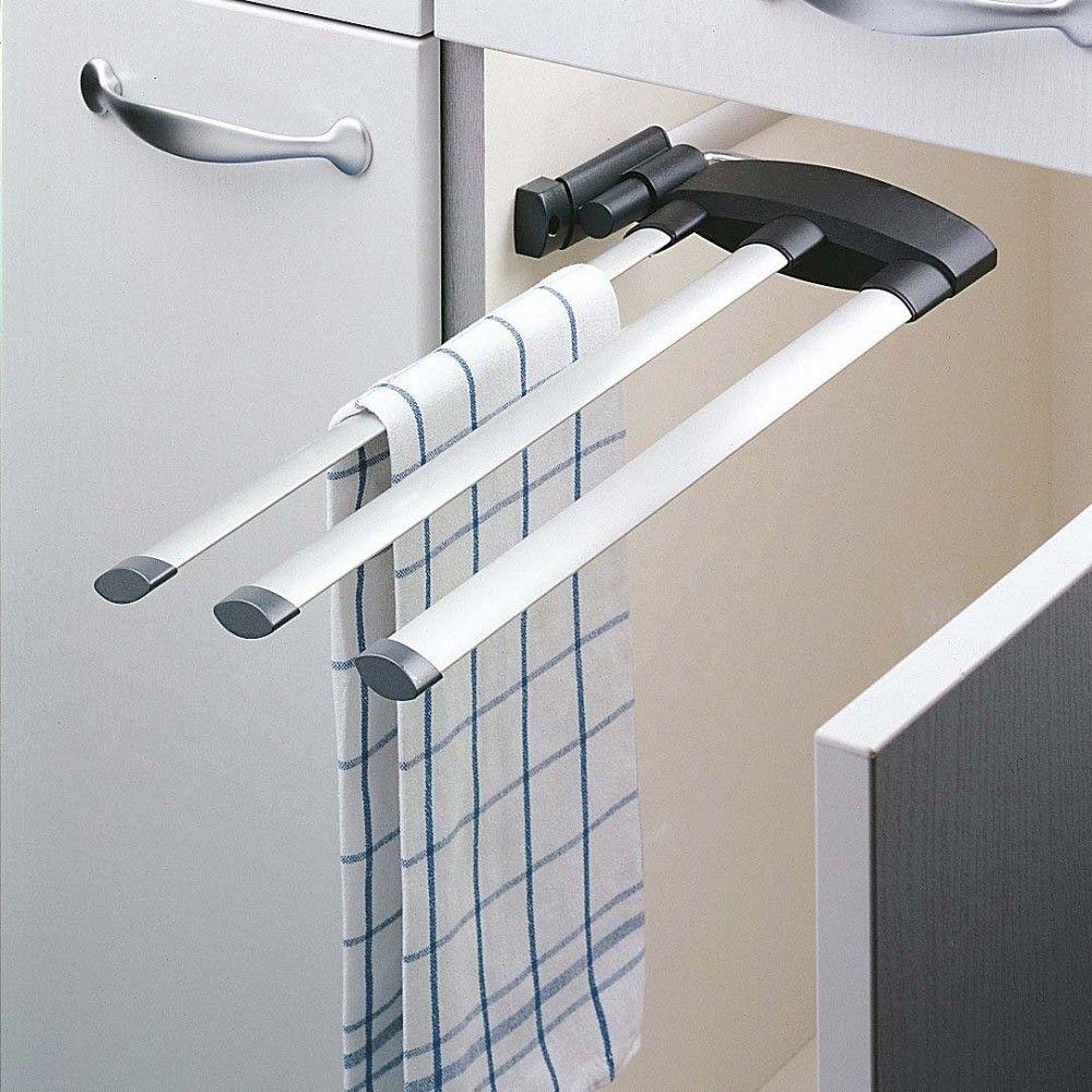 die besten 25 handtuchhalter 3 fach ideen auf pinterest handtuchhalter k che ausziehbar. Black Bedroom Furniture Sets. Home Design Ideas