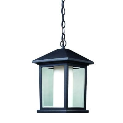 Filament Design Lawrence 1 Light Black Incandescent Outdoor Hanging