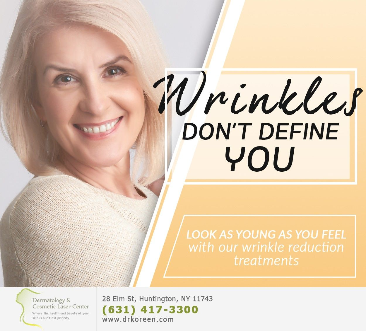 Wrinkles May Appear Way Too Early But You Can T Go Back And Change Your Skincare Practices Now What You Can Do Is Dermal Fillers Wrinkle Reduction Treatment