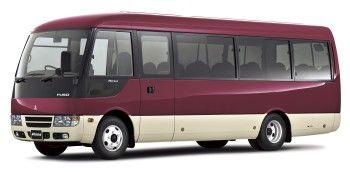 Mitsubishi Fuso Aero Rosa Con Imagenes Transporte Autobus