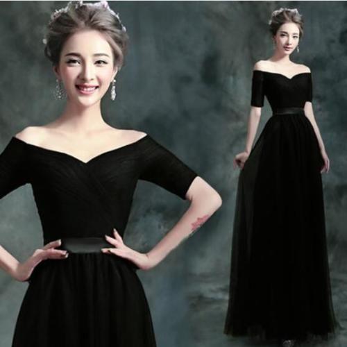 Womens Elegant Fascinating Full-Length Eveningwear Fairy Back Bandage Dress New