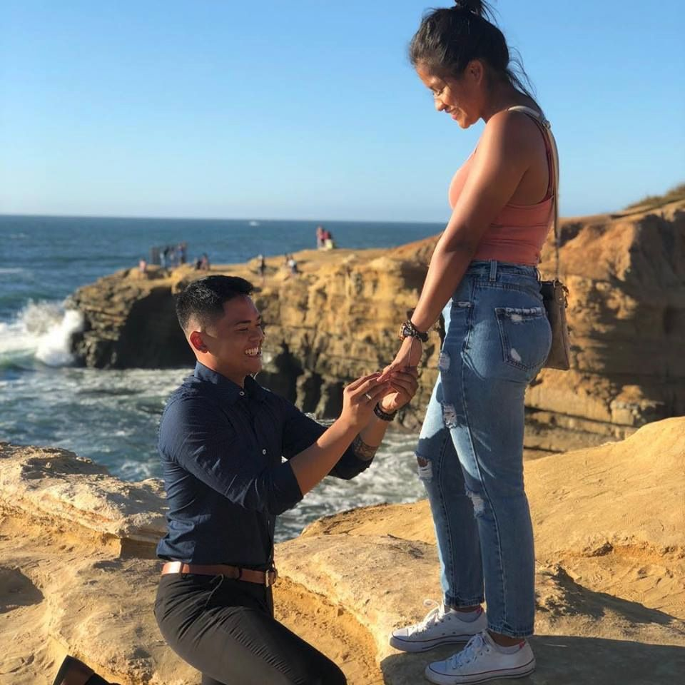 This Beautiful Robbins Brothers Couple Got Engaged On The Sunset