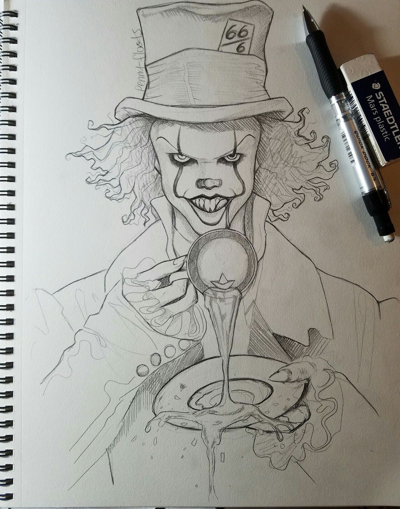 Epingle Par Elaw Yse Sur Ca Dessin Clown Dessins Faciles Croquis Dessin
