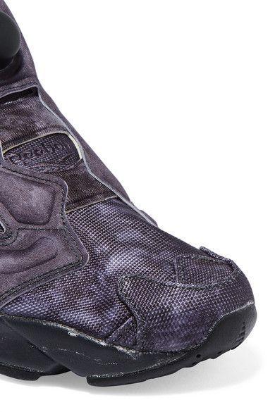 92a243b4149 Vetements - Reebok Instapump Fury Og Neoprene And Mesh Sneakers - Black