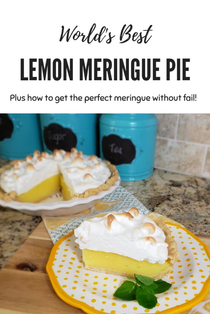 World's Best Lemon Meringue Pie – Sassy Cassy's #lemonmeringuepie