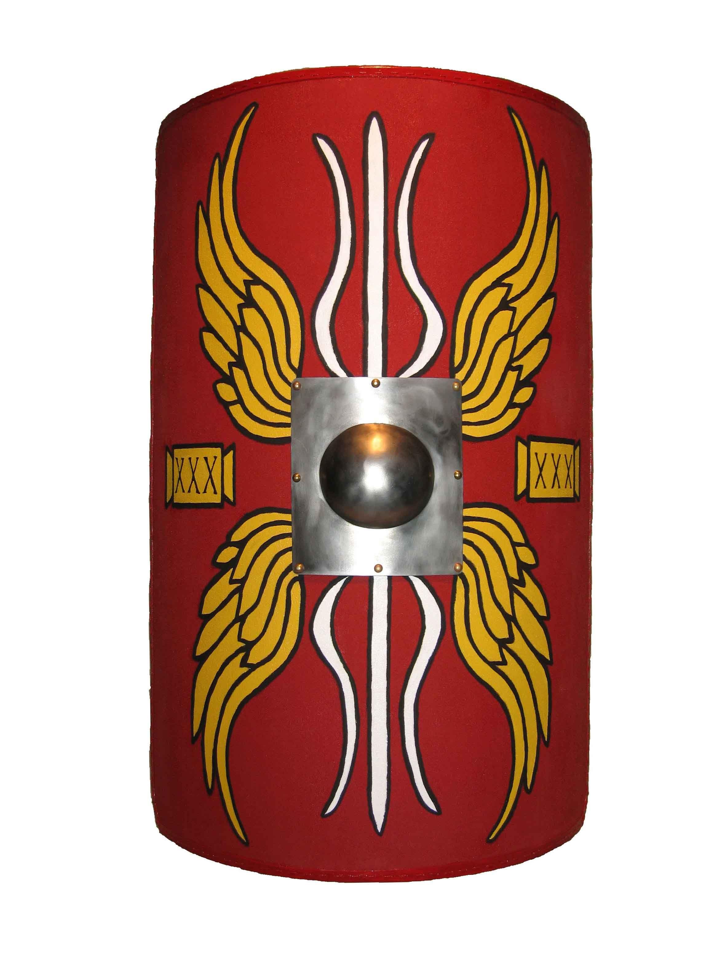 a89127e52be Single shield - possible background Roman Shield, La Legion, Roman Empire,  Rome History