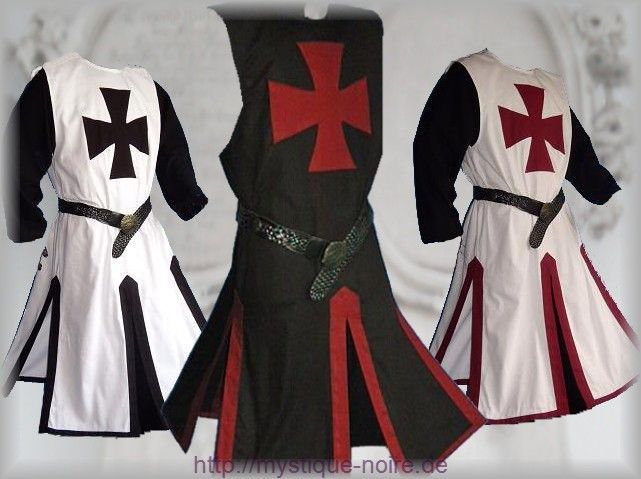Ideal For LARP 7 Colours Re-Enactment Basic Medieval Tabard