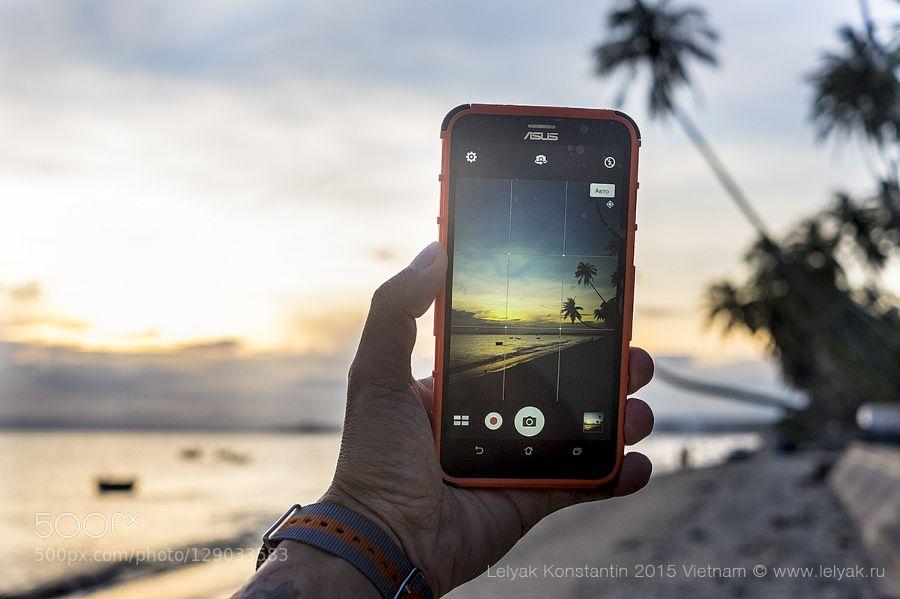 Sunset in Vietnam #PatrickBorgenMD