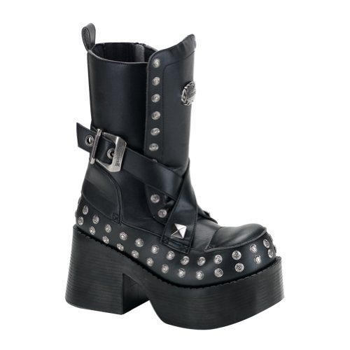 3 1/2 Inch Platform Gothic Boots Womens Calf Boots Chunky Heel Straps Studs Size: 11 Unknown,http://www.amazon.com/dp/B00401ER22/ref=cm_sw_r_pi_dp_D4nWsb0J0TWVDDD6