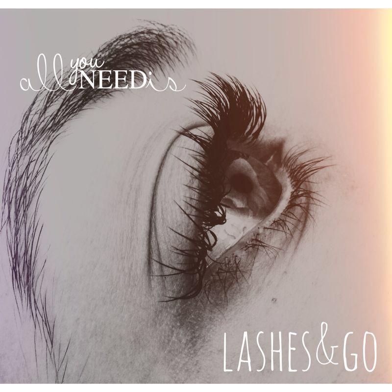 Extensiones de pestañas #eyelashes www.lashesandgo.com