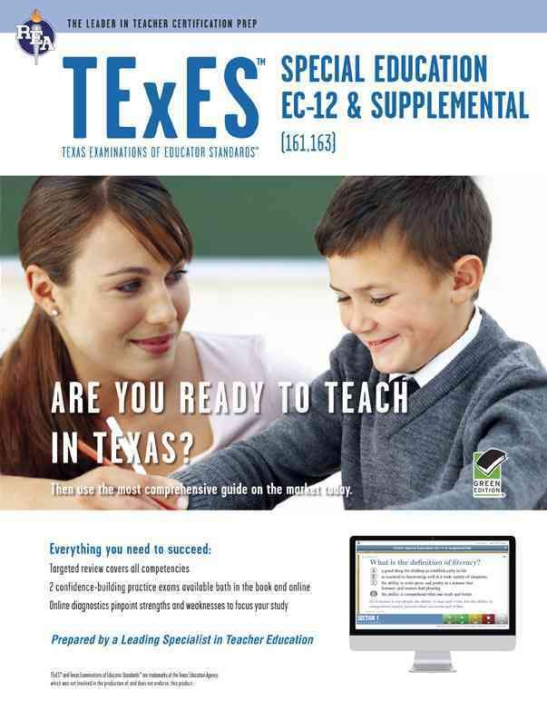 rea's texes special education ec-12 (161) test prep with online ...