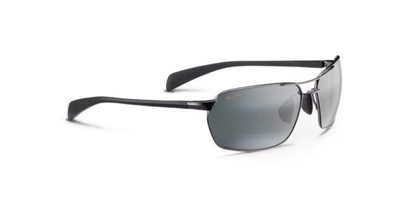 d10d35b9b3 Maui Jim Sunglasses Maliko Gulch Gunmetal Neutral Grey 324-02D Polarised 65  is designed for unisex and the frame is gunmetal. This style has a xtra  large ...