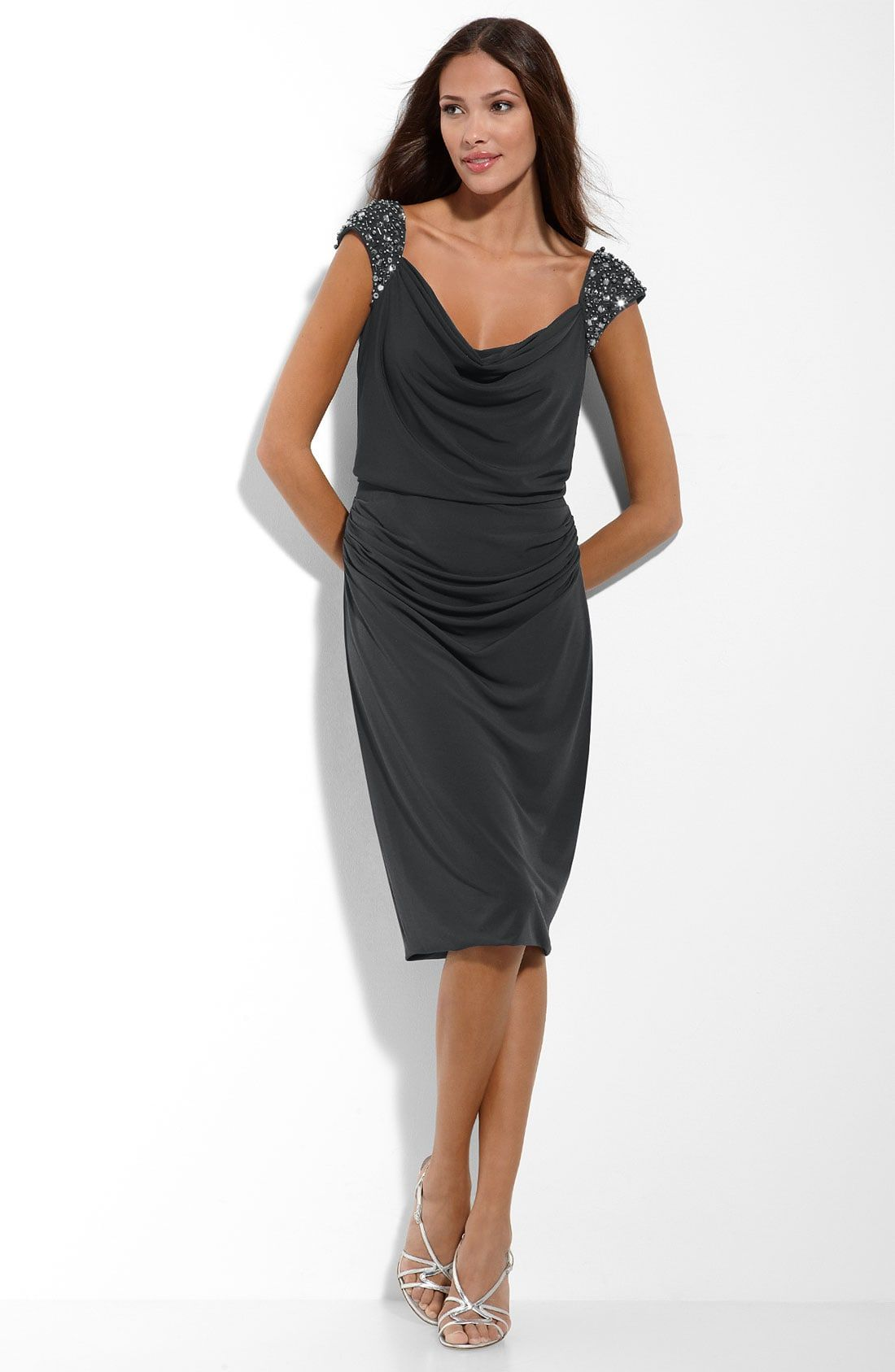 Nordstrom Dress Sabrina Jales Chiffon Cocktail Dress Blouson Dress Dresses [ 1687 x 1100 Pixel ]