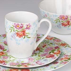 Spring Bouquet Dinnerware by Kathy Ireland & Spring Bouquet Dinnerware by Kathy Ireland | Dishes | Pinterest ...