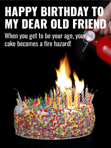 Fire Hazard Funny Birthday Card For Friends Birthday Greeting Cards By Davia Funny Happy Birthday Meme Birthday Cards For Friends Funny Birthday Cards