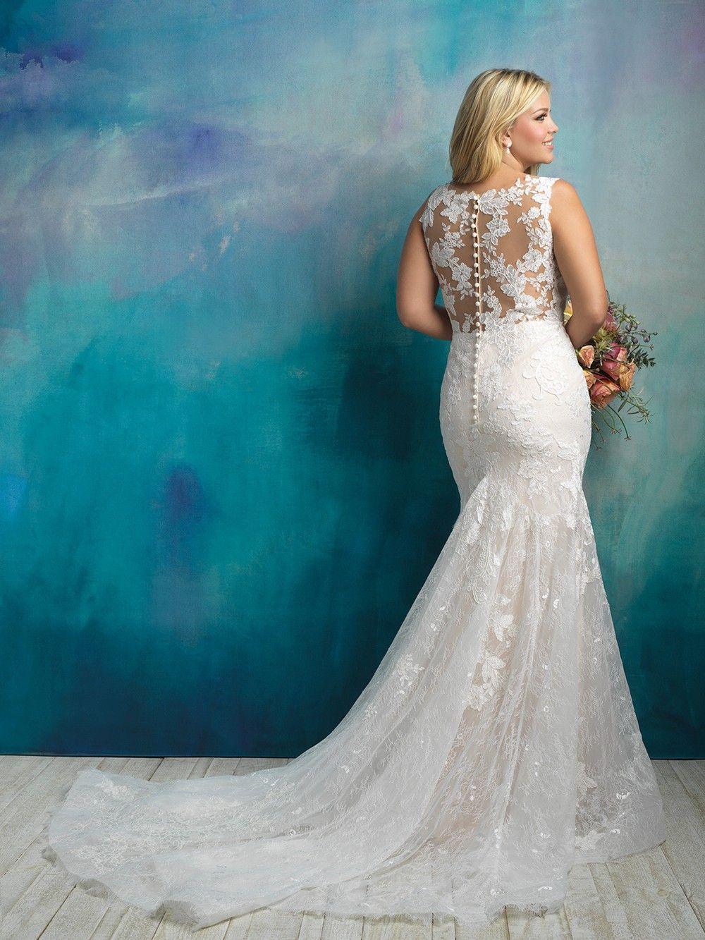 Allure Bridals - Dress Style W418. #weddingdresses #wedding #bride ...