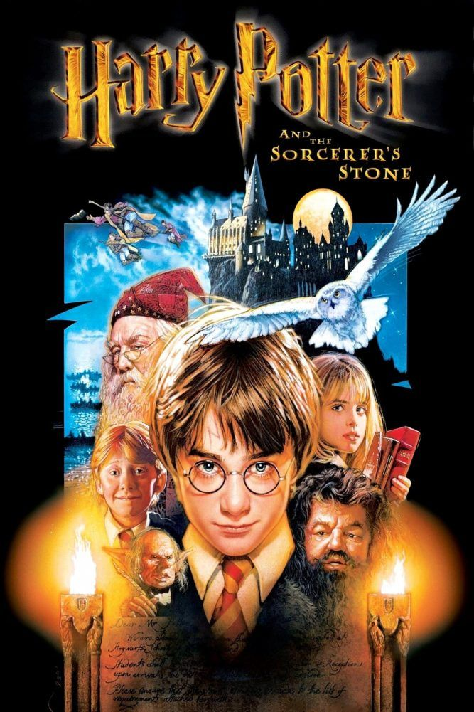 Harry Potter Poster The Philosophers Stone High Quality Hd Printable Wallpapers All Char Harry Potter Movie Posters Harry Potter Poster Harry Potter Full Movie