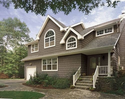 certainteed vinyl siding cedar impressions double 9 staggered