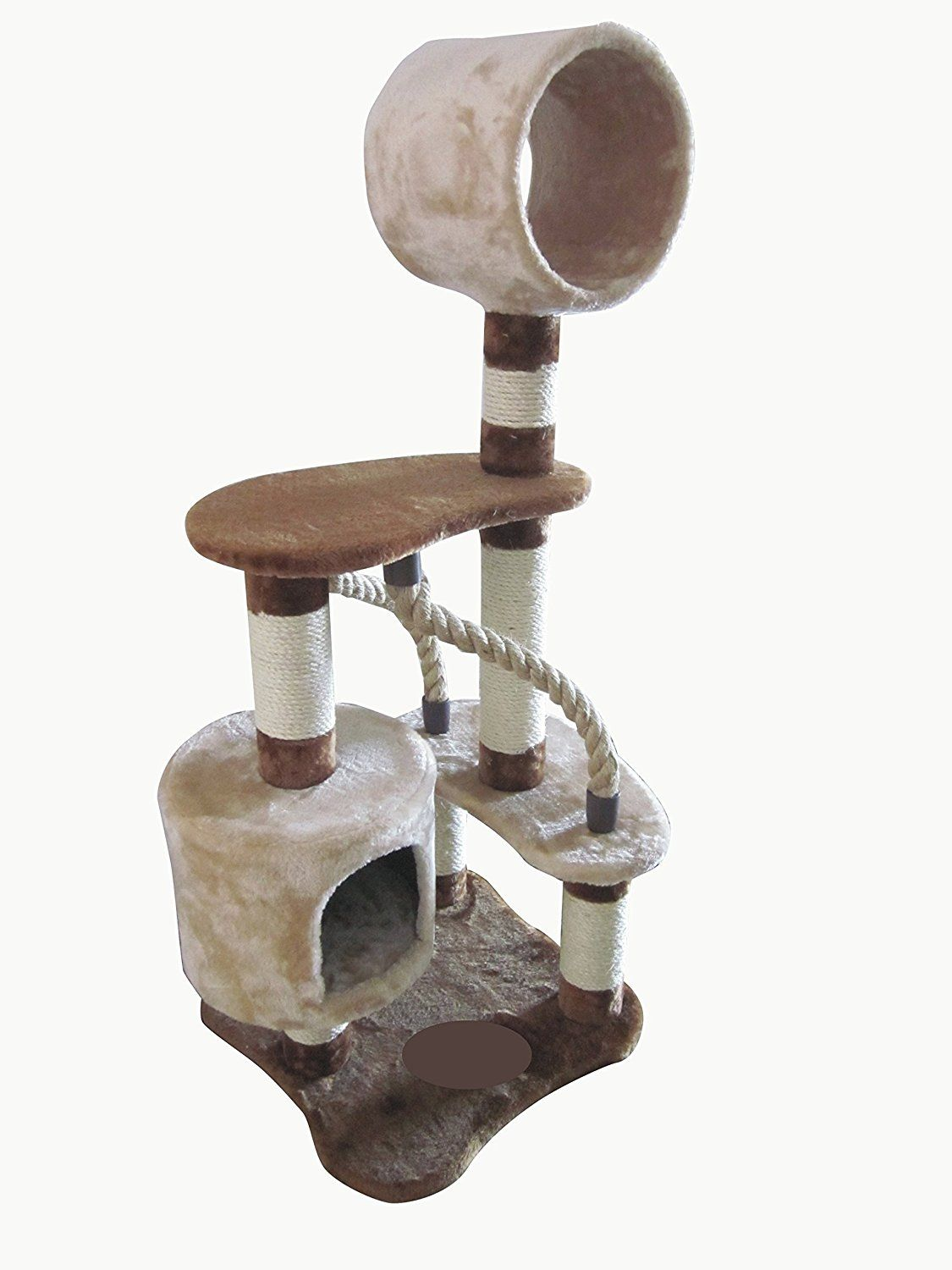 Iris 4 Tier Cat Tree Condo Cat Playground You Can Find More Details Here Cat Tree And Tower Cat Tree Condo Cat Playground Cool Cat Trees
