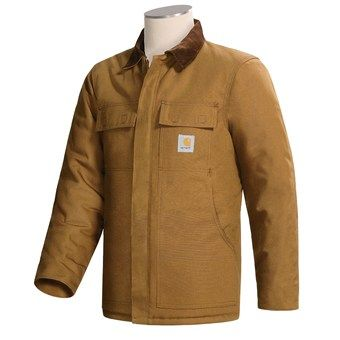 Carhartt Arctic Weight Traditional Coat (For Tall Men) in Carhartt Brown