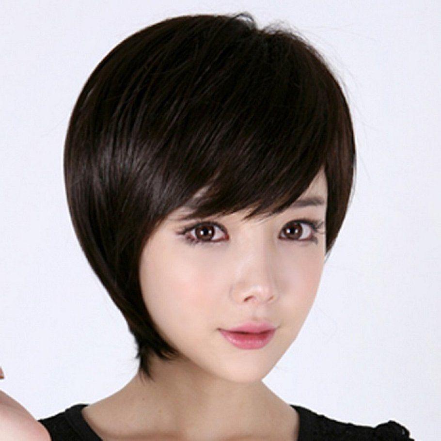 round face short hair asian - google search | hair | pinterest