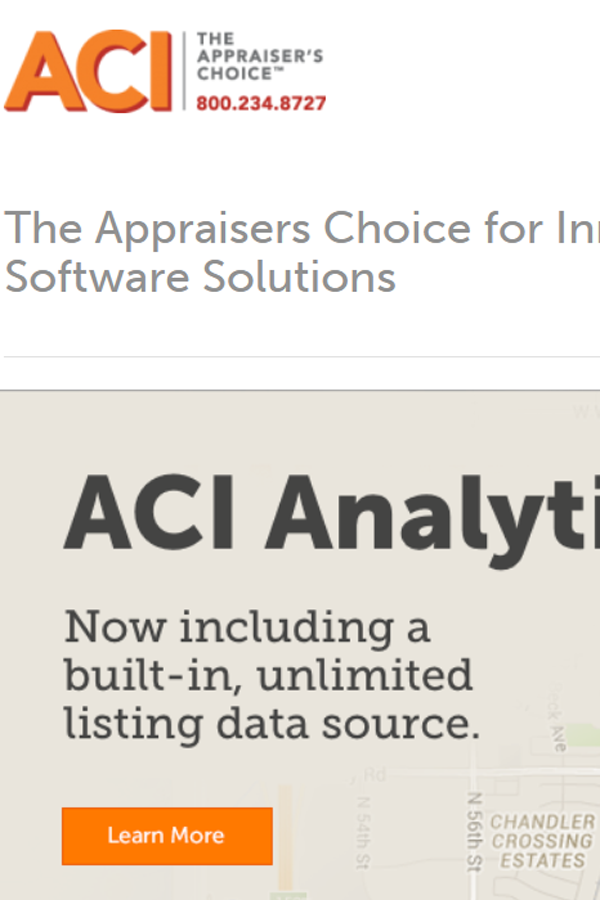 Our Teams Are Highly Trained For Aci Real Estate Appraisal Software If You Outsource Aci Data