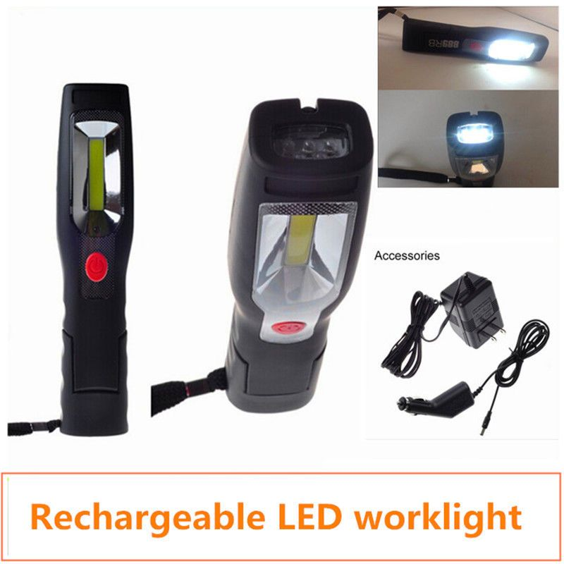 Powerful Led Cordless Work Light Cob Rechargeable Portable Hand Held Work Lamp Work Lights Work Lamp Cheap Lamps