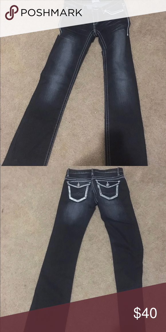 df251347681 Jeans Day trip 27Long. Worn once. Comes from a smoke feee home. Daytrip  Jeans Boot Cut