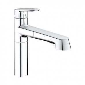 Grohe Europlus Single Lever Kitchen Sink Mixer Tap - 33933002 ...