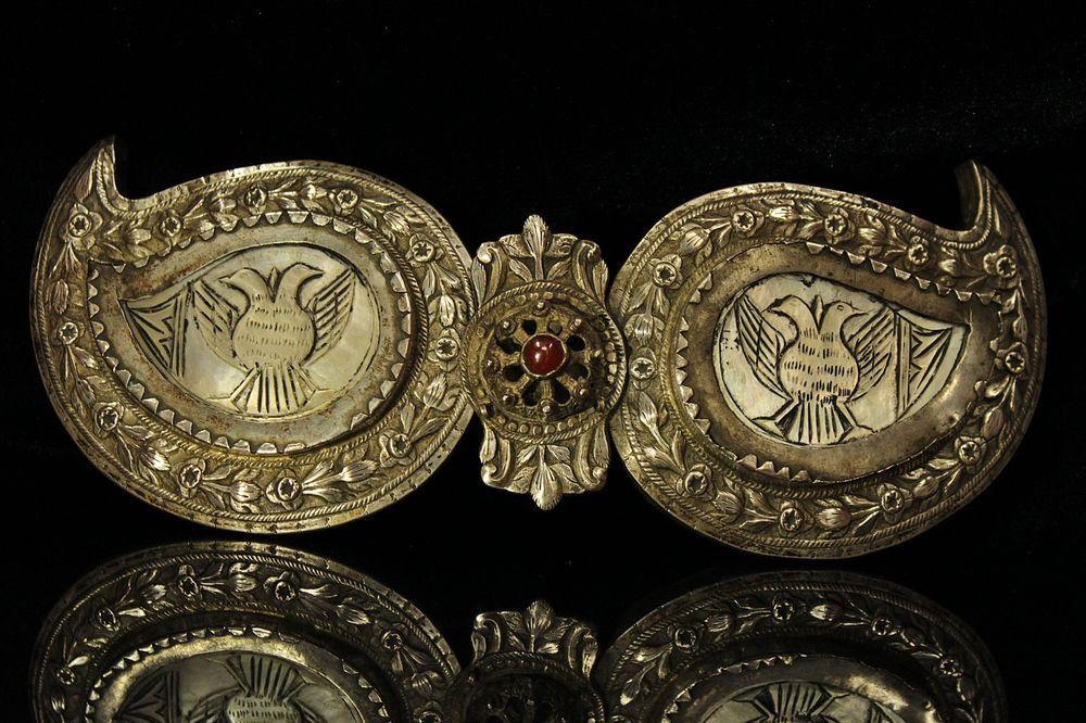 Antique Original Silver Ottoman Belt Buckle Ebay Belt Buckles Vintage Belt Buckles Womens Belt Buckles