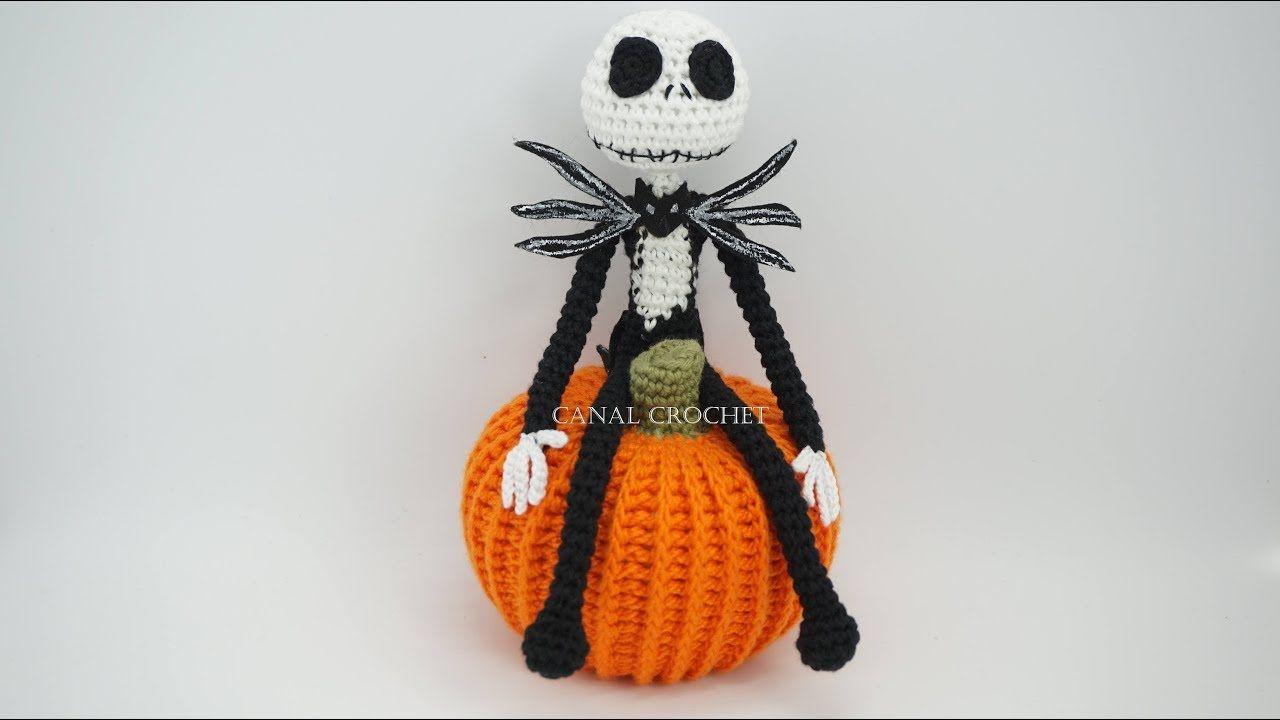 Jack Skeleton amigurumi tutorial | Amigurumi | Pinterest | Croché ...