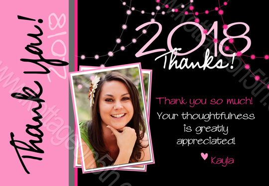 Graduation Thank You Notes Thank You Cards By Snapfish Available In