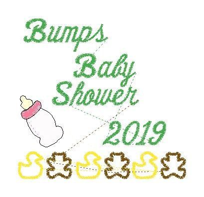 Bumps Baby Shower - custom design for JAB - custom
