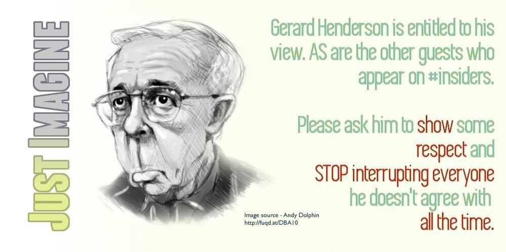 Stop interrupting and #STFU Gerard Henderson  #AUSpol #insiders pic.twitter.com/VvgRImJtcV