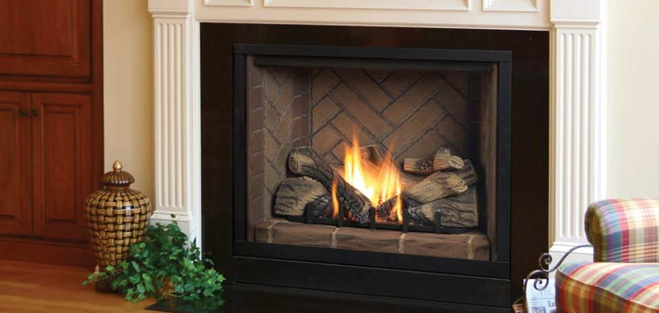 Solitaire Direct Vent Gas Fireplaces By Majestic Products Vented