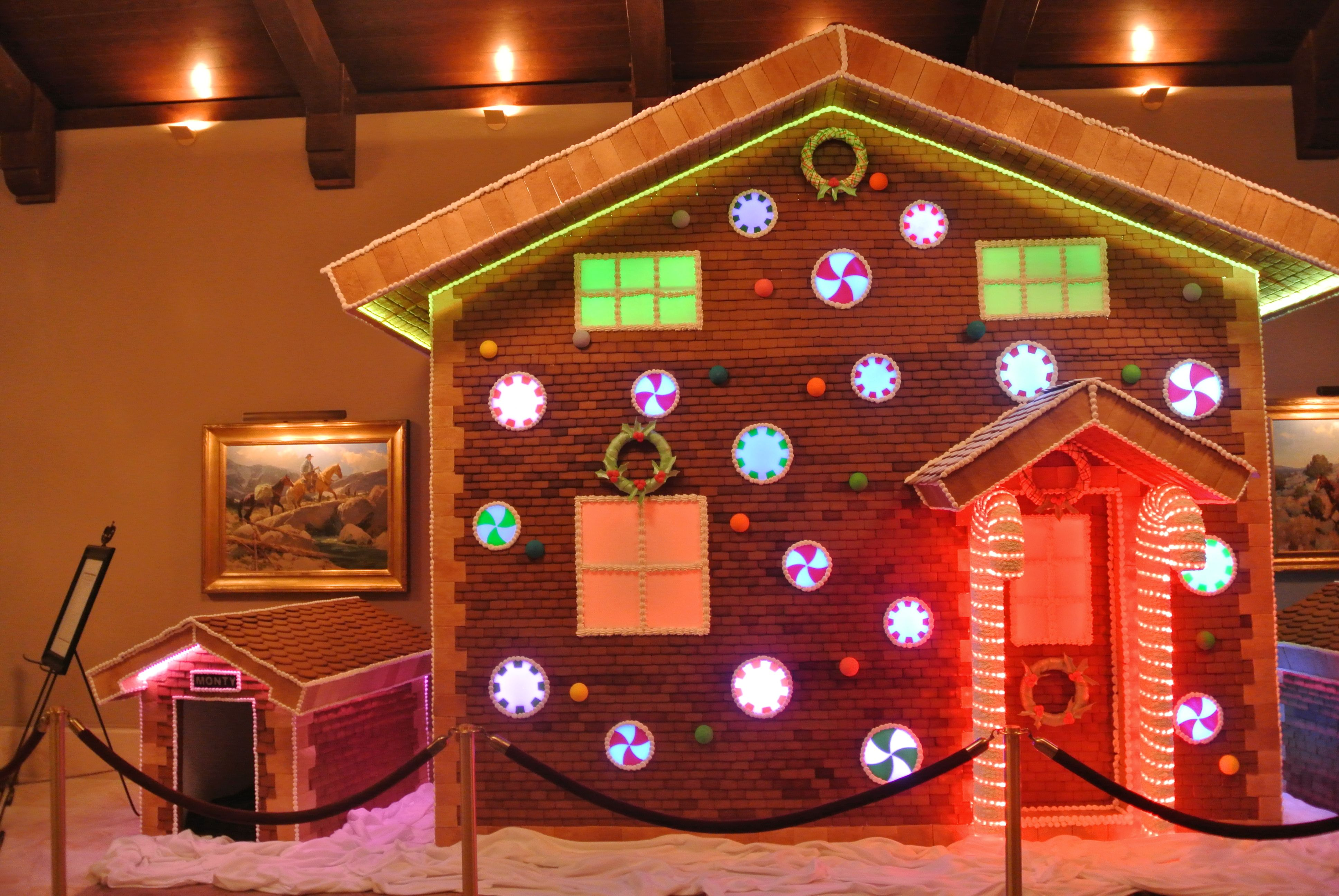 Biggest Gingerbread House Ever At Montage Deer Valley Note The