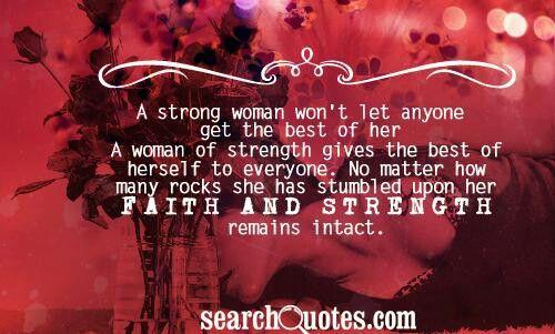 #quotes #strength #woman #faith
