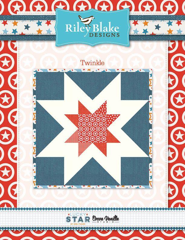 Lucky Star Free Pattern Free Quilt Patterns Pinterest Lucky