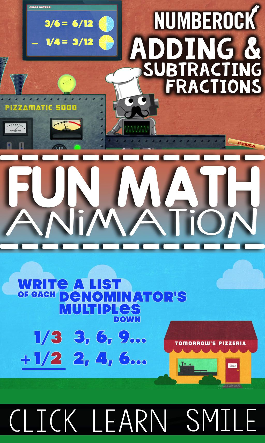 Adding Amp Subtracting Fractions Song By