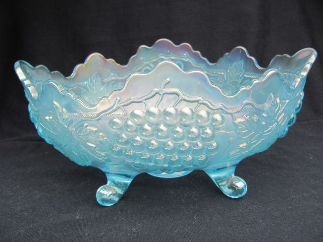 Northwood Ice Blue Grape and Cable  Banana  Bowl