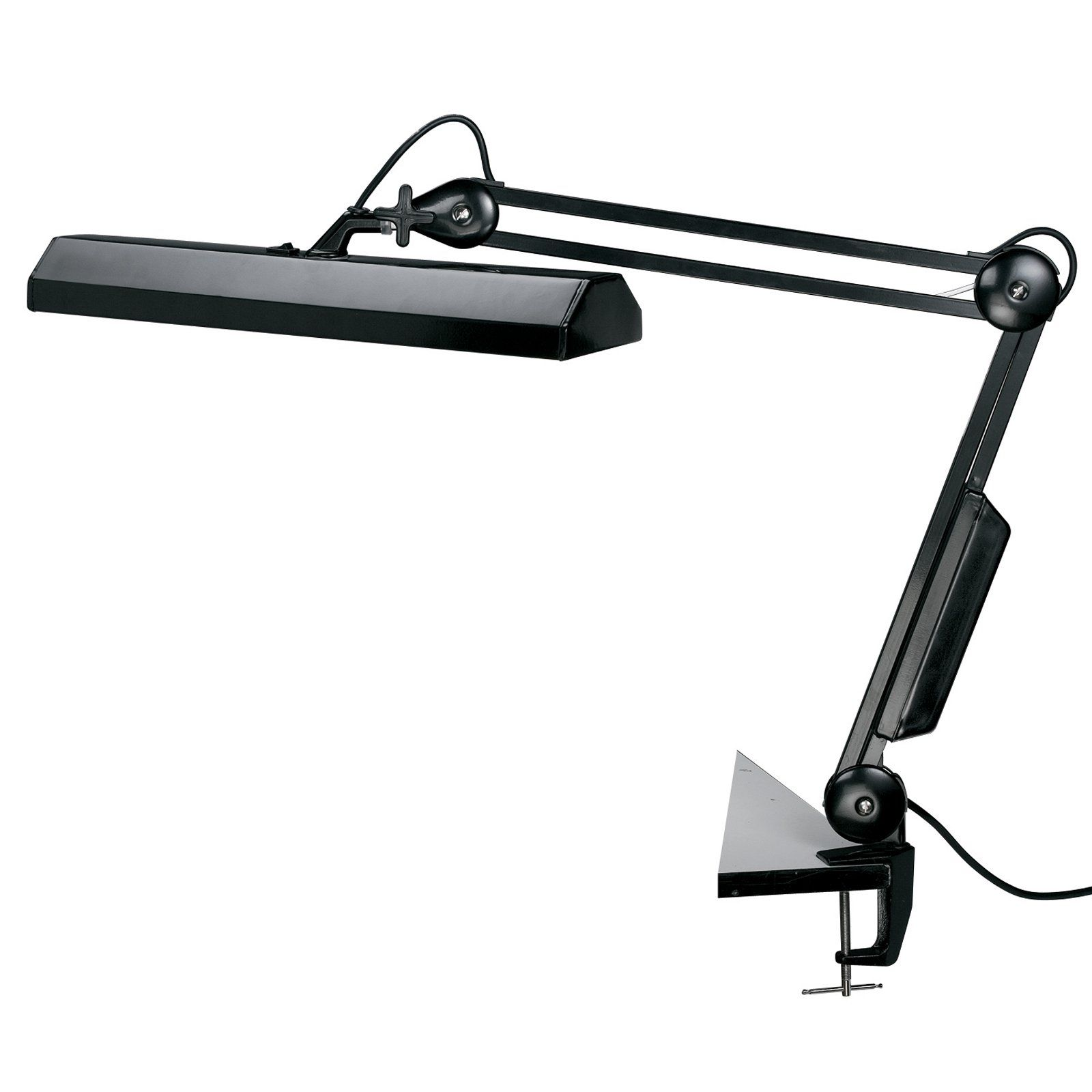 Alvin Fluorescent Task Clamp Light - We're shining the spotlight on one of the best task lights you can buy. For crafters or drafters, homes or offices, the Alvin Fluorescent Task...