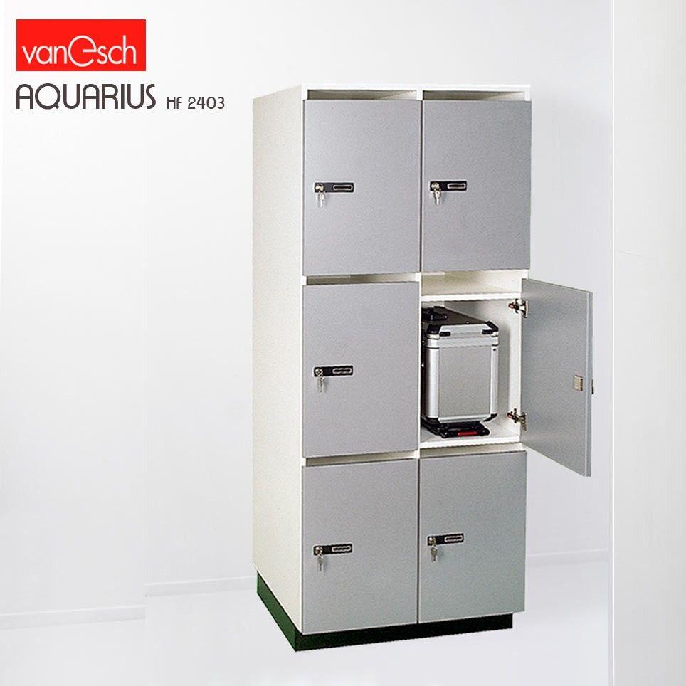 Casiesr A Valises Aquarius Hf 2403 P 6 Casiers Bois 80x62 H 190 Cm Van Esch Casier