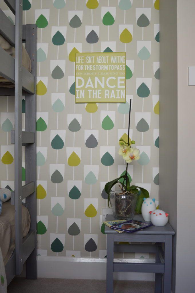 Shared kids bedroom Scion Sula Wallpaper in
