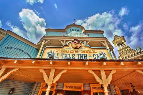 Pecos Bill Tall Tale Inn @ Magic Kingdom.  Top 5 quick service.