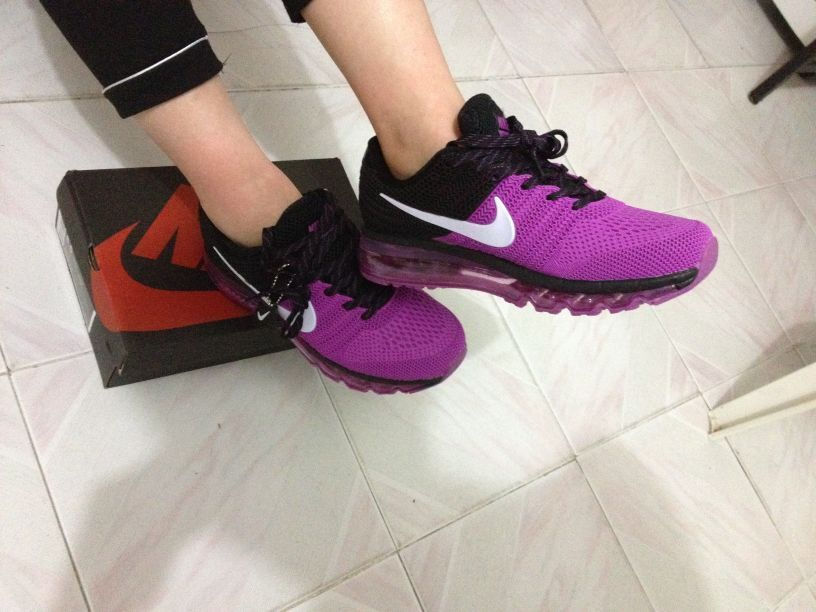 daa2624617 New Coming Nike Air Max 2017 KPU Purple Black Women Shoes | Sporty ...