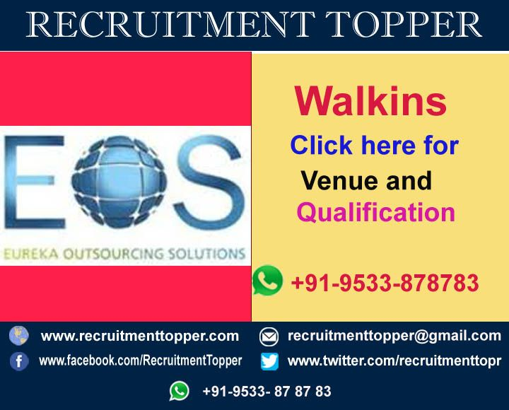 Eos Globe Pvt Ltd For Freshers At Bengalore Recruitment Topper