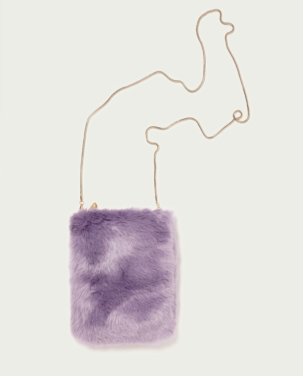 Image 1 Of Furry Bag From Zara