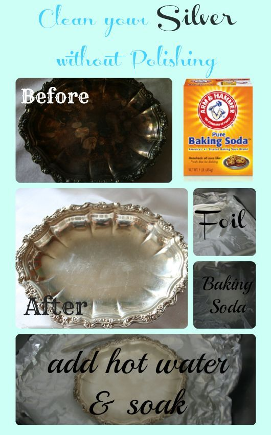 This Is Such An Easy Way To Clean Silver And It Works All You Need Household Cleanershousehold