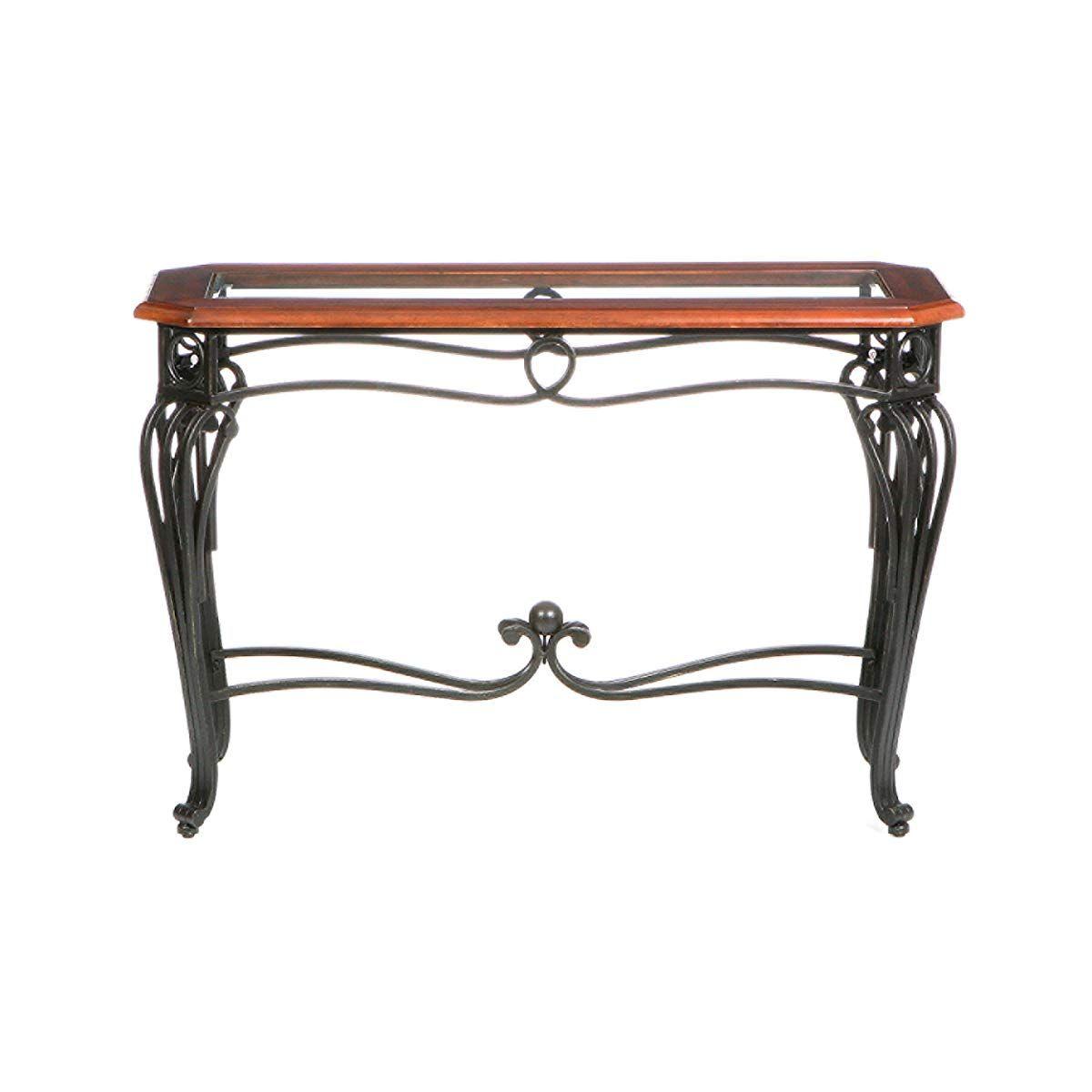 Southern Enterprises Prentice Sofa Console Table, Dark ...