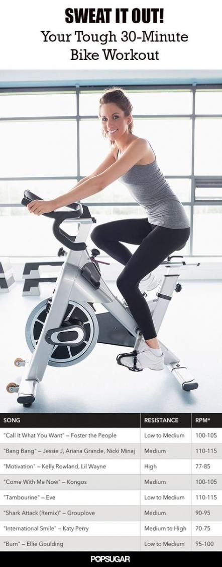 Stationary Bike Workout Cardio Spin Class 46 Ideas For 2019 Biking Workout Spin Bike Workouts Workout
